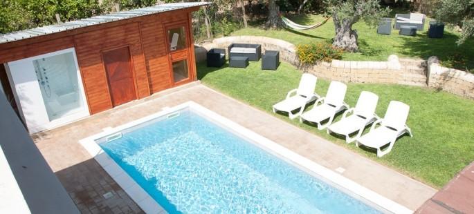 Villetta con piscina oikos immobiliare - Agriturismo avola con piscina ...