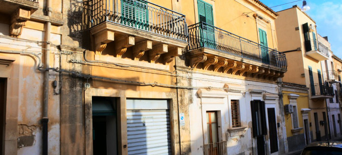 Casa in via Garibaldi a Noto