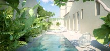 Casa con giardino in centro storico a Noto