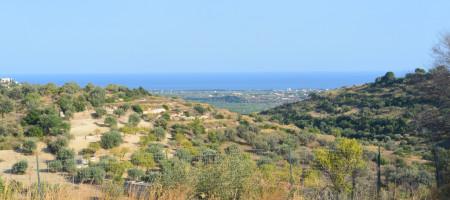 Terreno panoramico con vista mare
