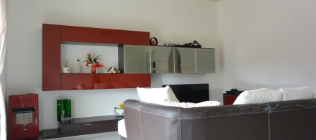 Apartment with a garage in via Roma