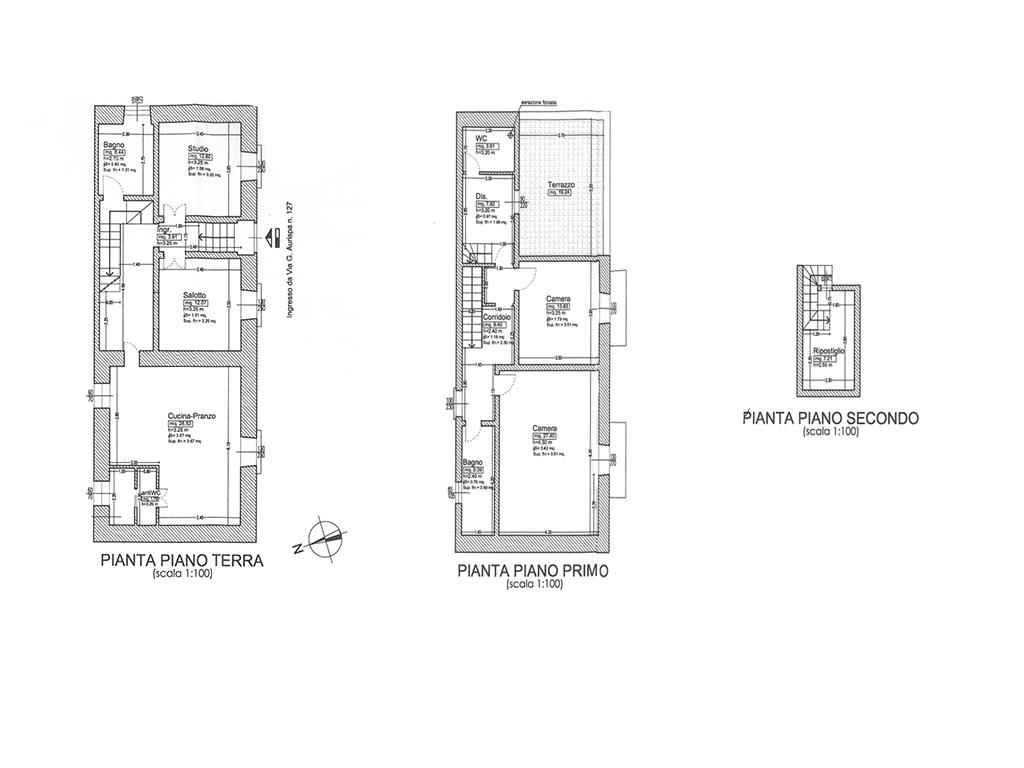 Casa con terrazzino via Aurispa a Noto 36