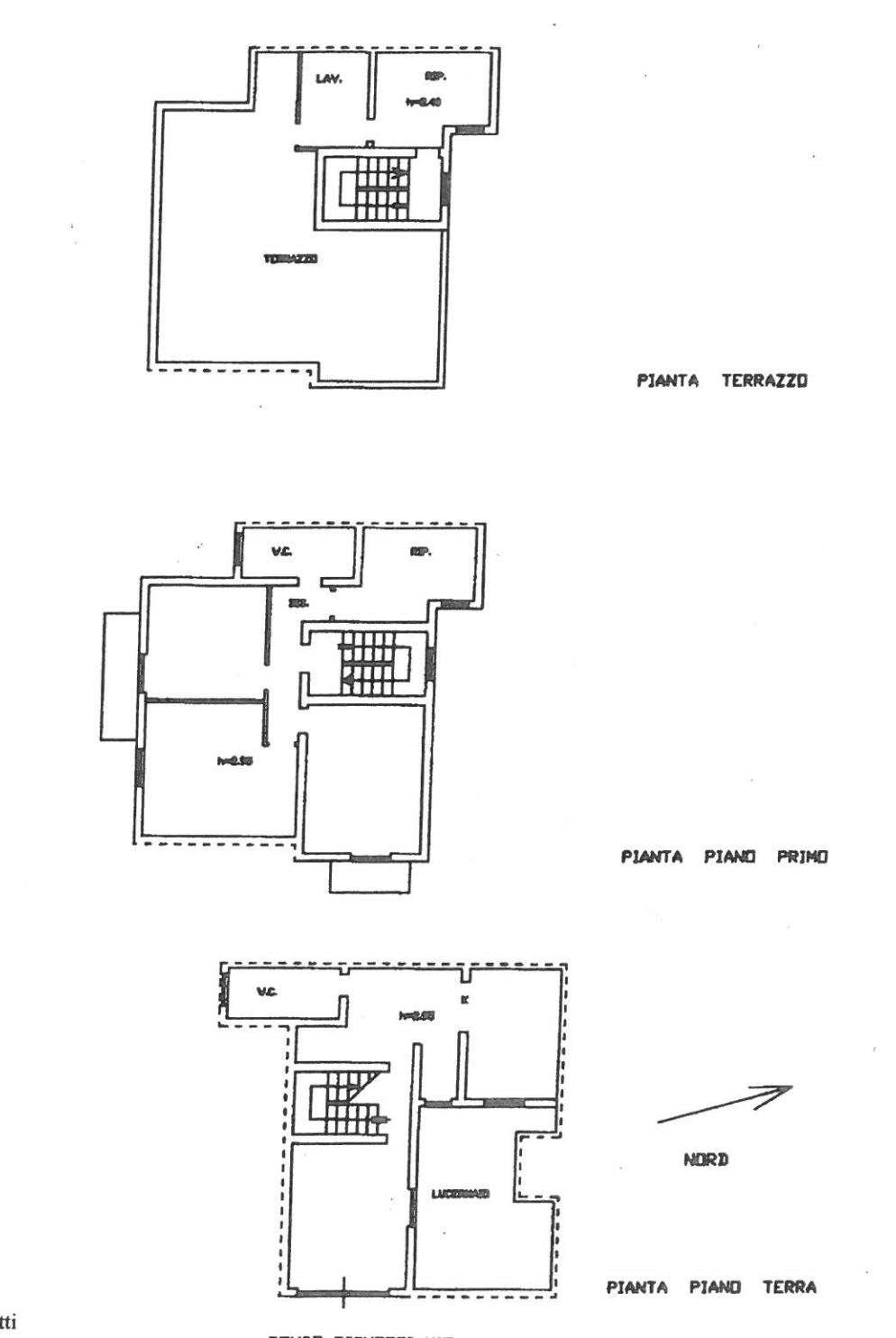 Casa con terrazzo a Noto via Righetti 27