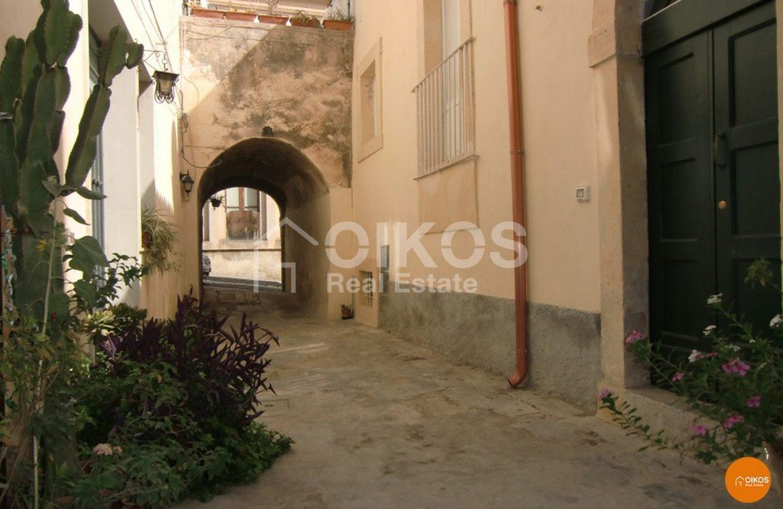 Casa in via Giordano Bruno al centro storico Noto
