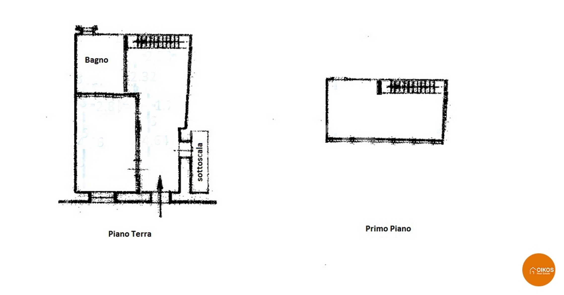 Casa indipendente in via Amante, Noto planimetria