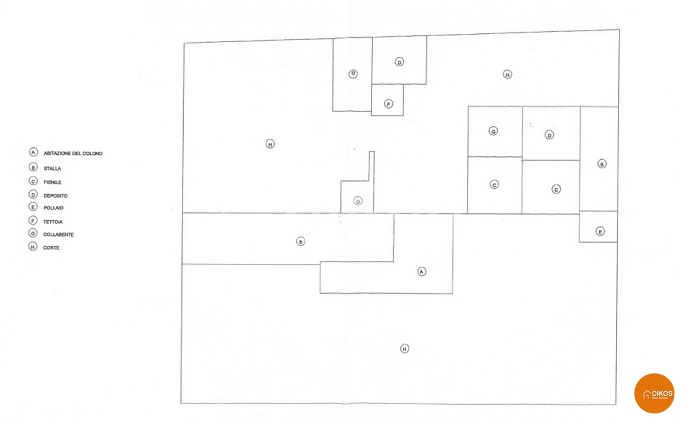 Caseggiato Piana Milo 28 Planimetria