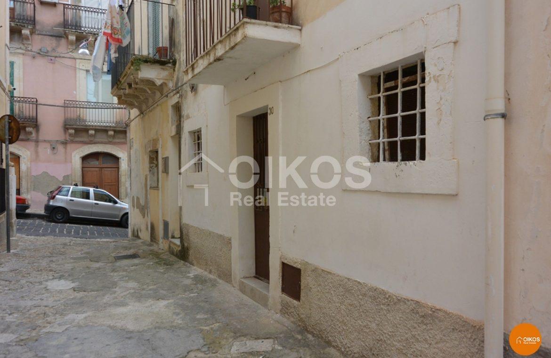 Casetta vico Abate al centro storico Noto