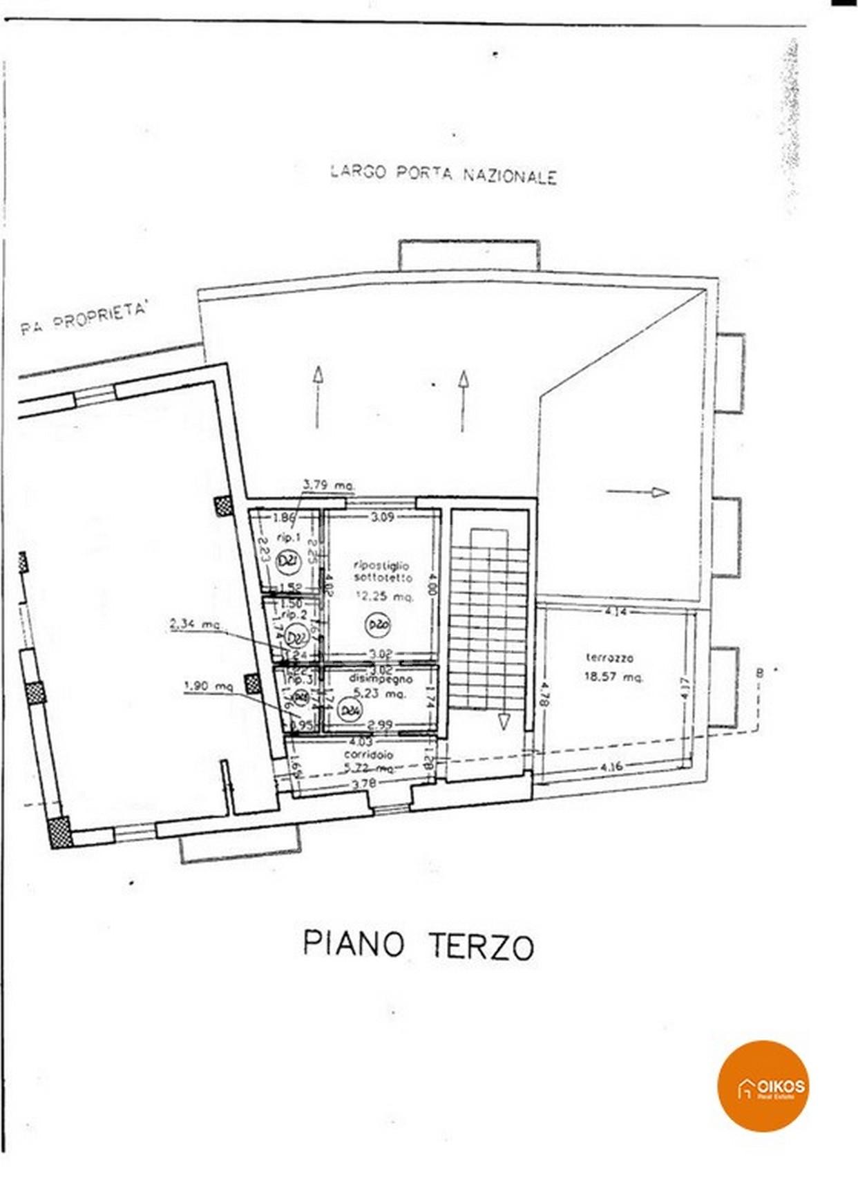 corso V. Emanuele plan1