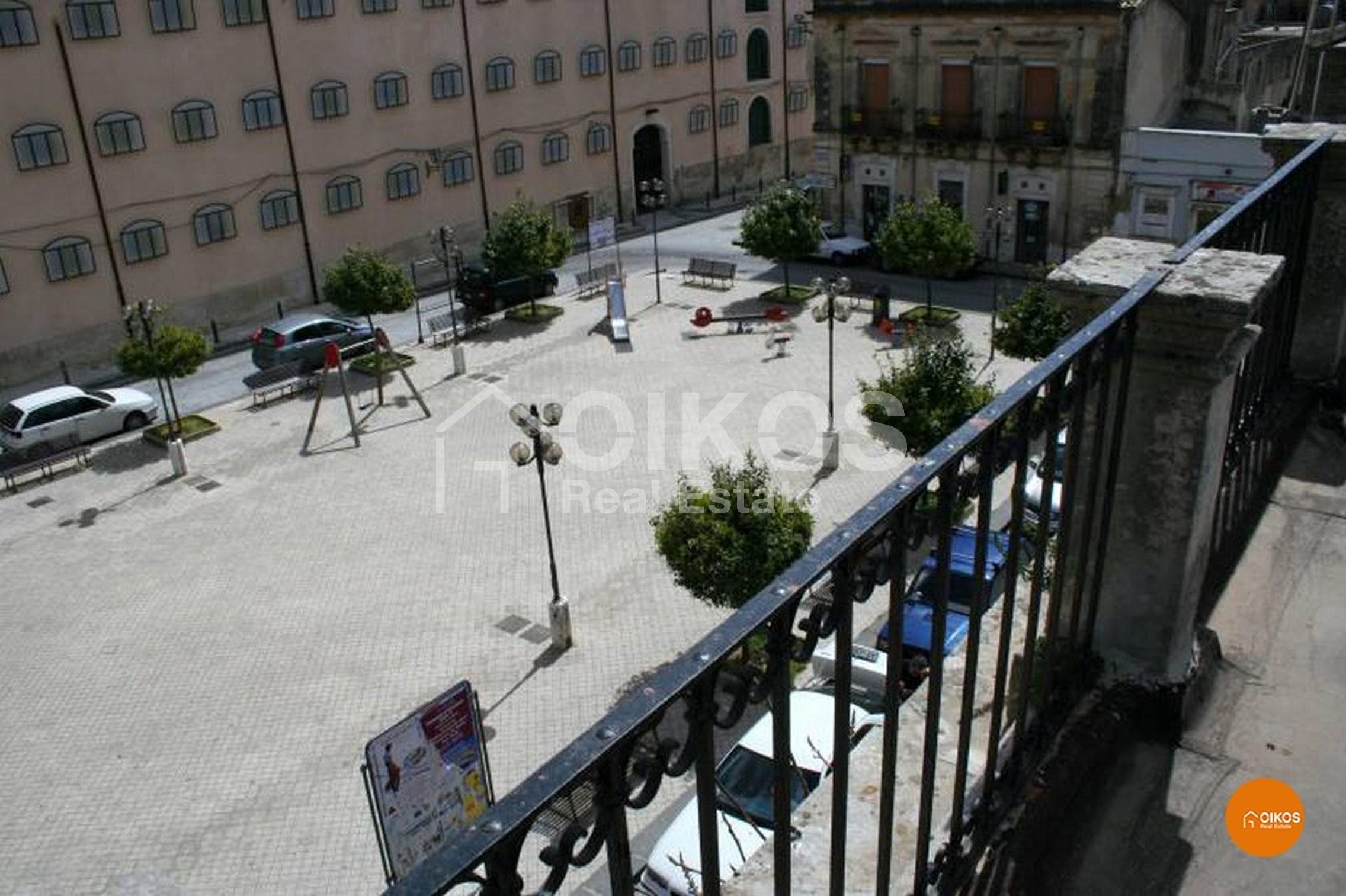 Piazza Mazzini a Noto