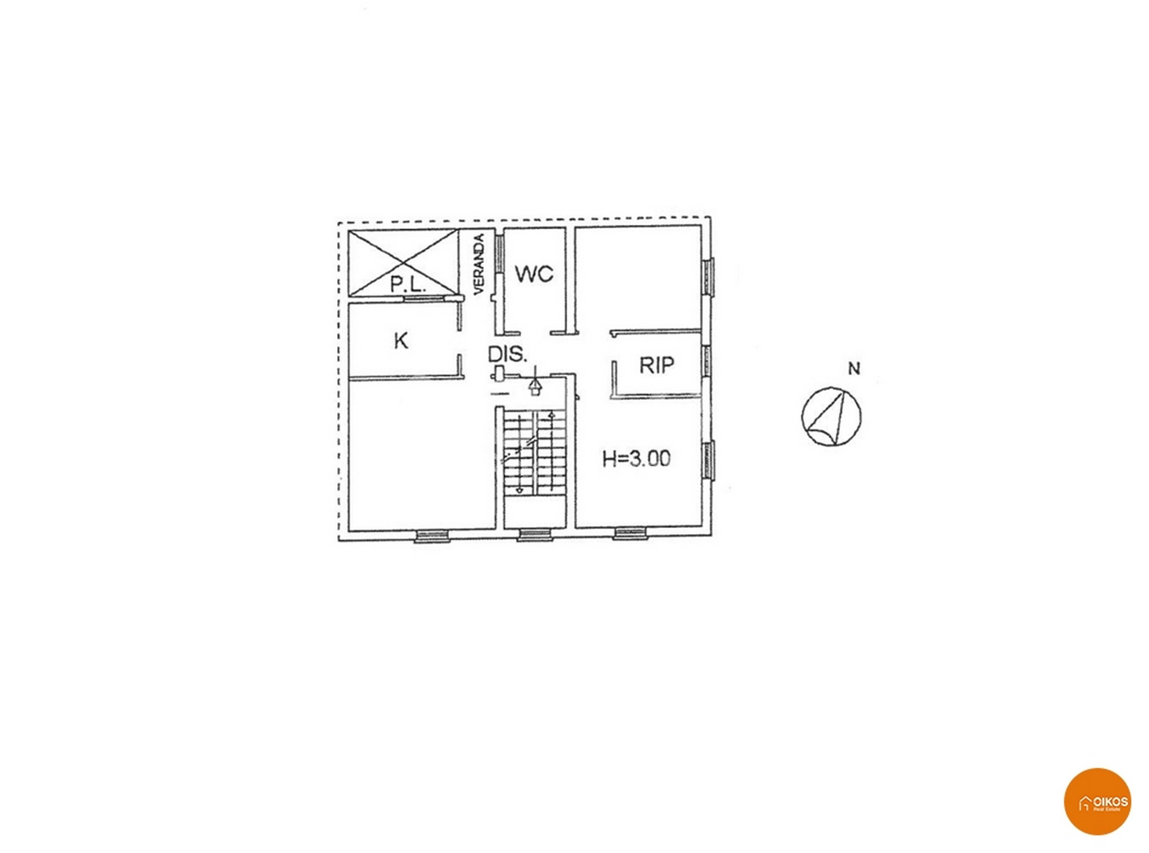 Appartamento via Cilea planimetria
