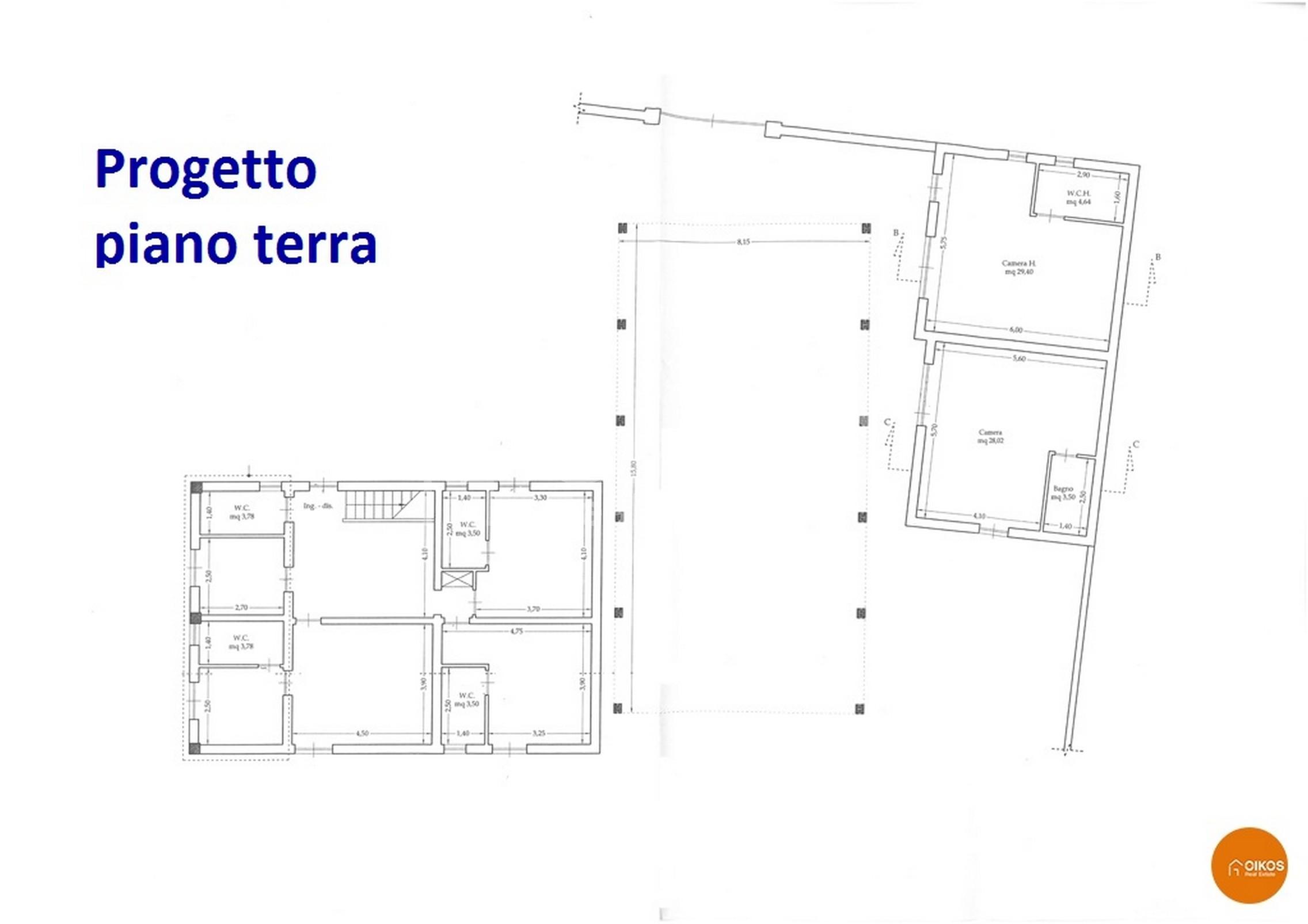 Villetta fronte mare progetto 1