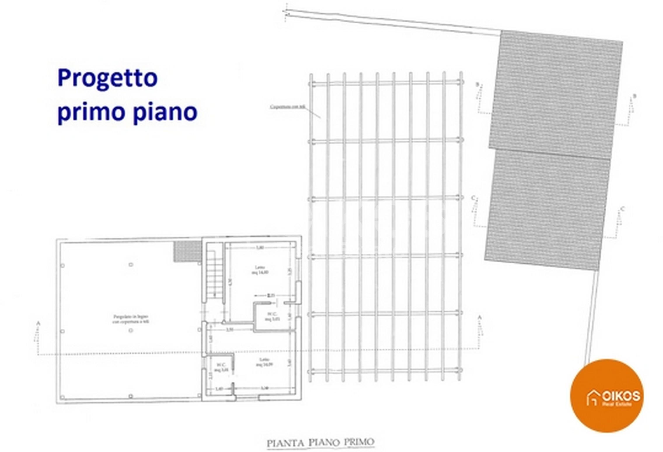 Villetta fronte mare progetto 2