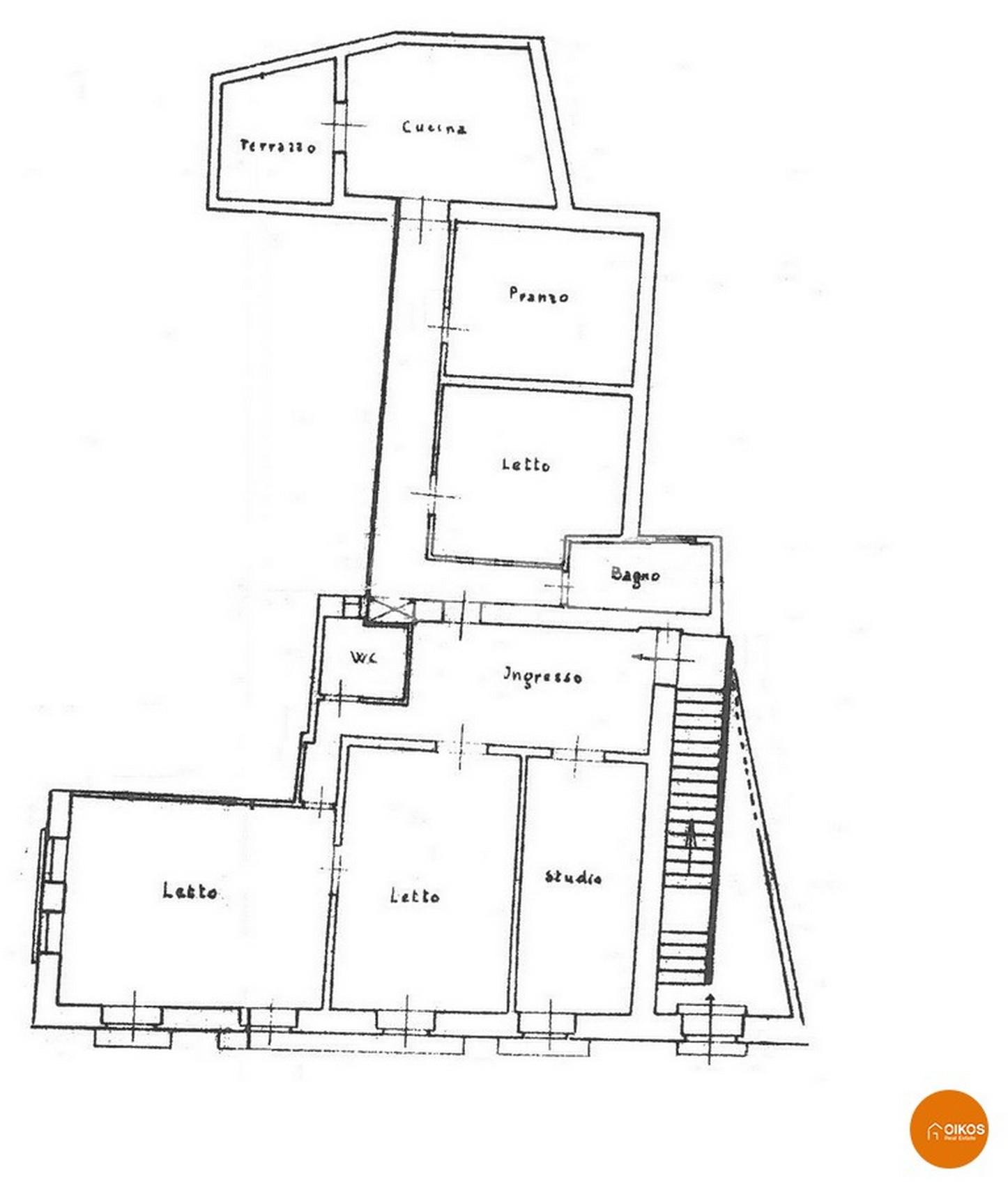 Casa con terrazzo via Coffa
