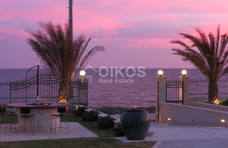 Villa con accesso diretto al mare13