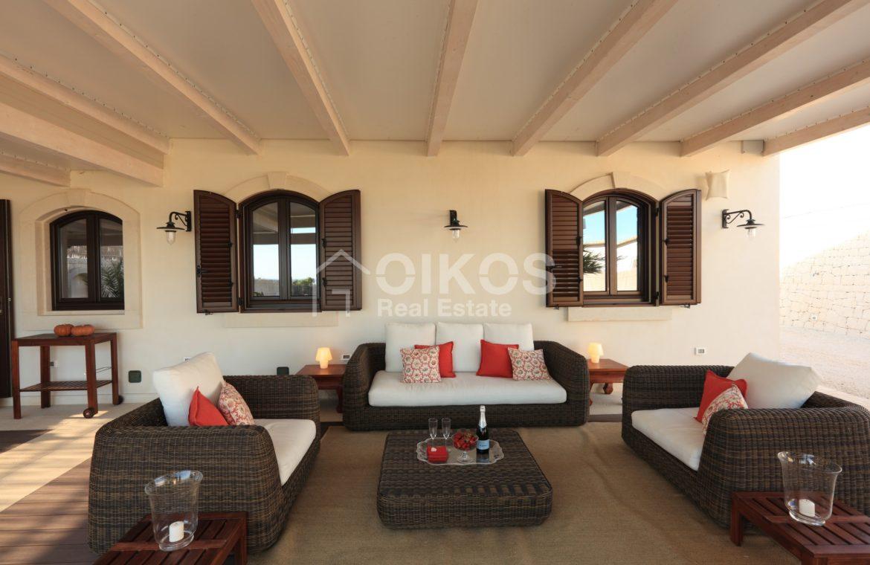 Villa con accesso diretto al mare19