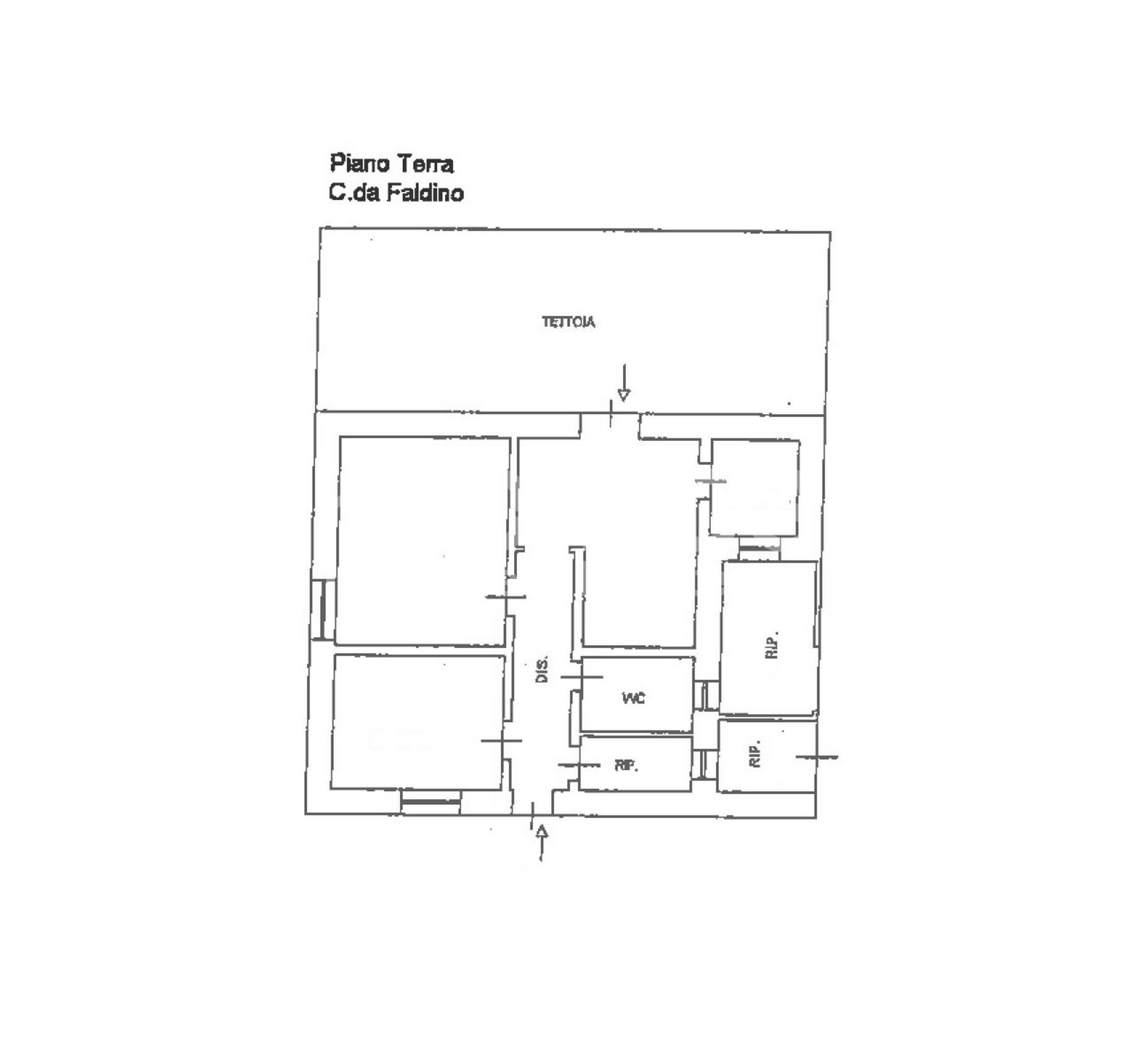 Casa singola in contrada Faldino 8