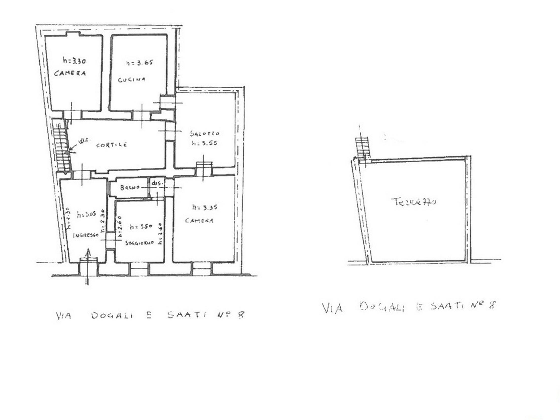 casa liberty con terrazzo, garage e cortile 14