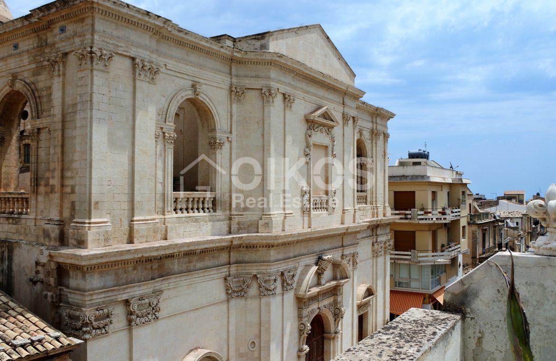 Terrazzo panoramico piazza Crocifisso Noto 2