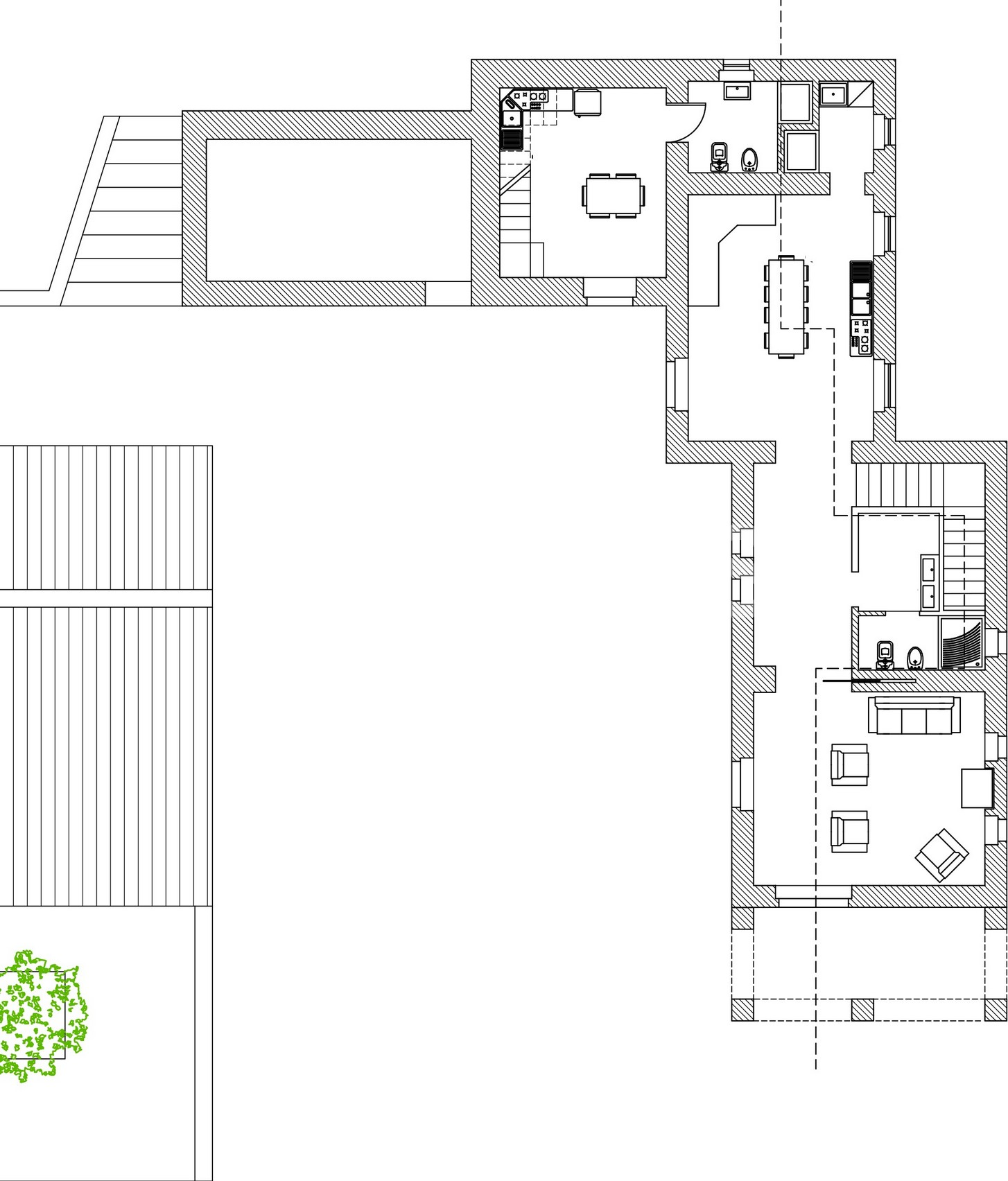 Caseggiato modicano con ampio baglio 16