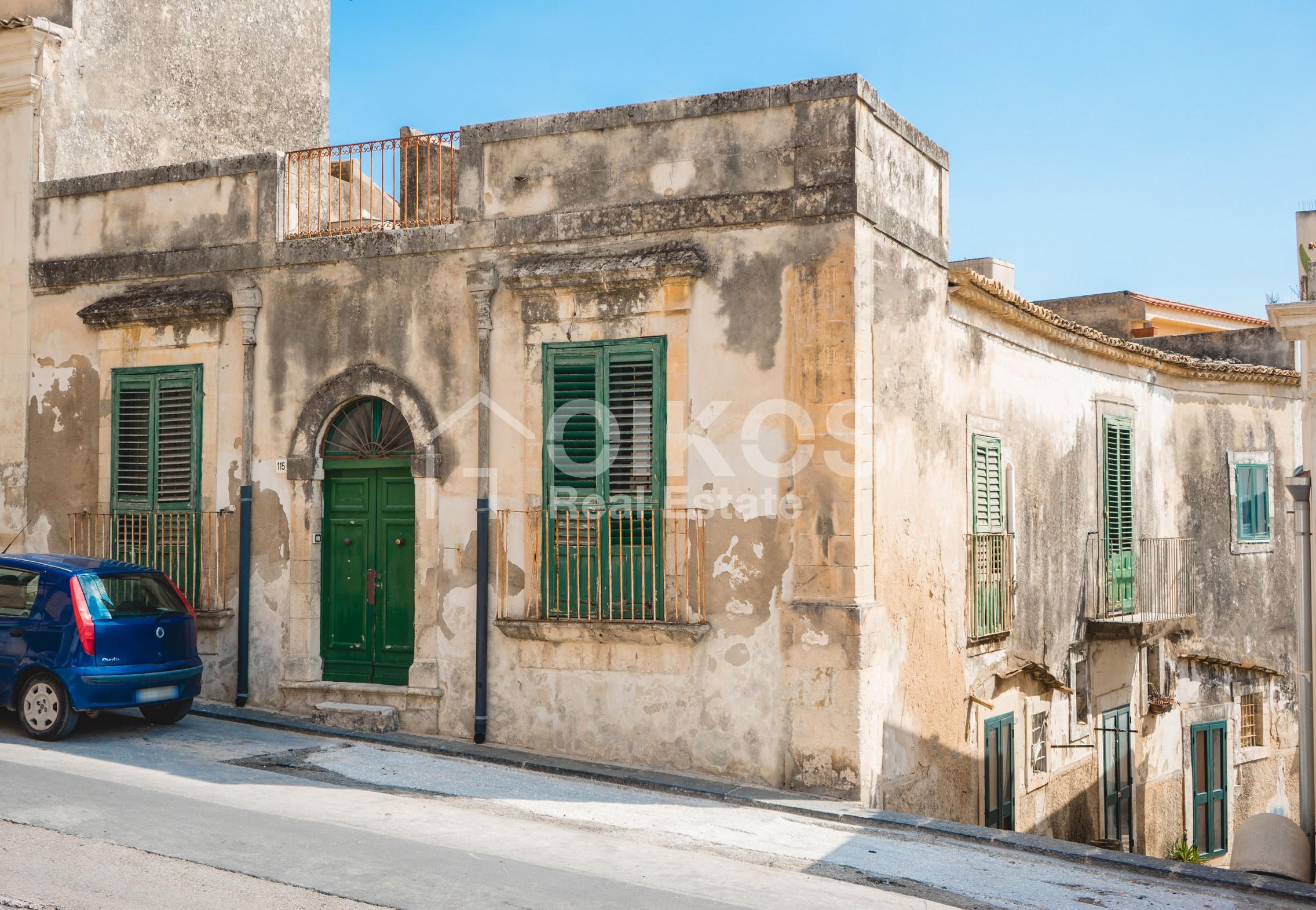 Casa singola nel centro storico di Noto 09