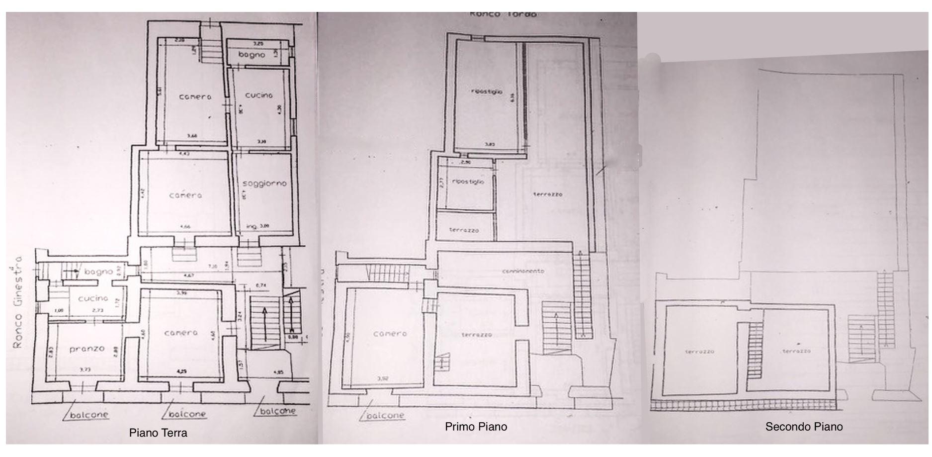 planimetria tre piani