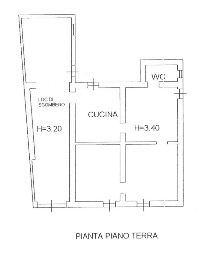 Casa con giardino c da Rigolizia 15