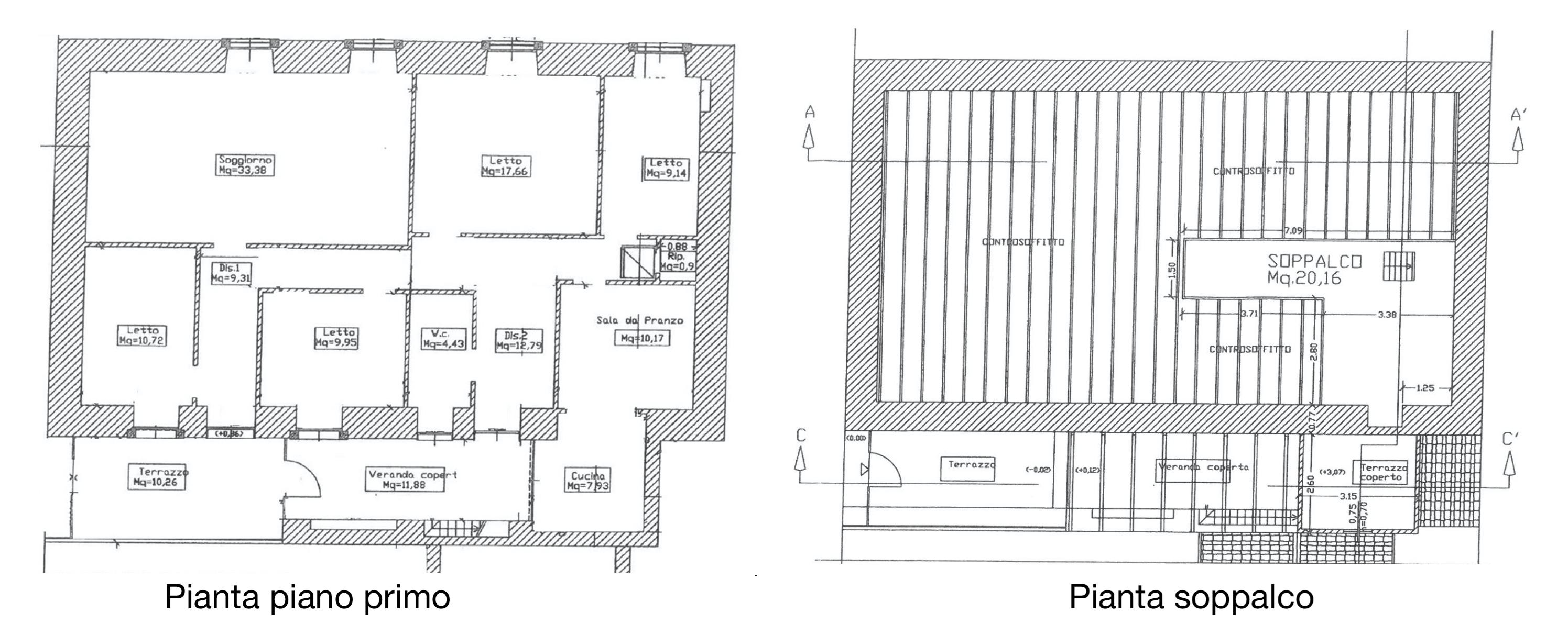 Casa con terrazzo nell'ex palazzo vescovile 23