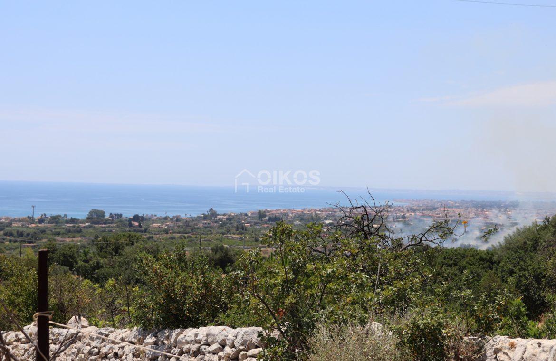 Terreno con caseggiato vista mare8