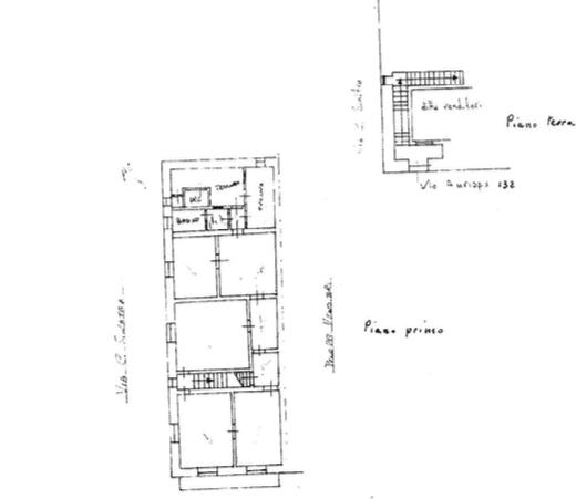 Palazzetto con terrazzino via Aurispa12