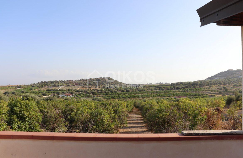 Villetta con terrazzo e terreno11